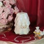Свадебная резная свеча — RMS-01