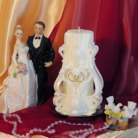 Свадебная свеча RSS-01 — Белый