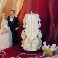 Свадебная свеча RSS-02 — Белый