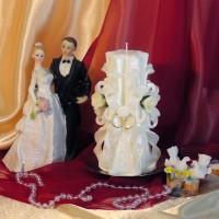 Свадебная свеча RSS-03 — Белый