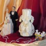 Свадебная свеча RSS-04 — Белый