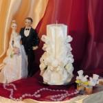 Свадебная свеча RSS-05 — Белый