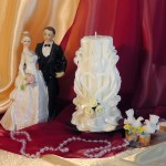 Свадебная свеча RSS-06 — Белый