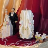 Свадебная свеча RSS-07 — Белый