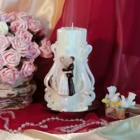 Свадебная свеча RSS-09 — Белый