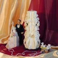 Свадебная свеча RVS-01 — Белый