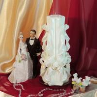 Свадебная свеча RVS-02 — Белый