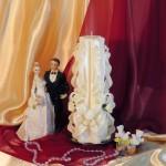 Свадебная свеча RVS-04 — Белый