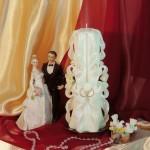 Свадебная свеча RVS-05 — Белый