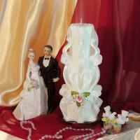 Свадебная свеча RVS-07 — Белый