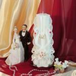 Свадебная свеча RVS-08 — Белый