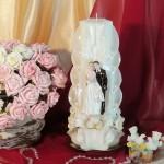 Свадебная свеча RVS-09 — Белый