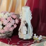 Свадебная свеча RVS-10 — Белый