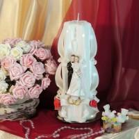 Свадебная свеча RVS-11 — Белый
