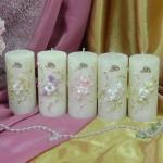 Свадебные свечи — SPL-58-120