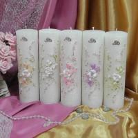 Свадебные свечи — SPL-58-200