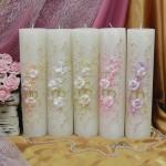 Свадебные свечи — SPL-70-300