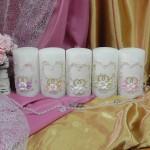 Свадебные свечи — SPL-80-140